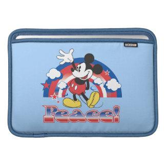 Holiday Mickey | Patriotic Peace Rainbow MacBook Air Sleeves