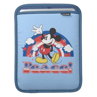 Holiday Mickey | Patriotic Peace Rainbow Sleeves For iPads