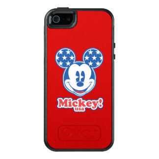 Holiday Mickey | Patriotic Stars OtterBox iPhone 5/5s/SE Case