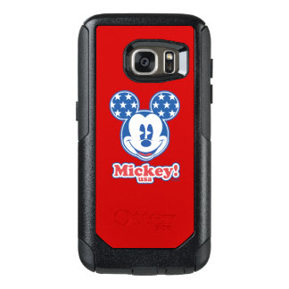 Holiday Mickey | Patriotic Stars OtterBox Samsung Galaxy S7 Case