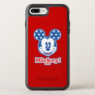 Holiday Mickey   Patriotic Stars OtterBox Symmetry iPhone 7 Plus Case