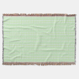 Holiday Mint Throw Blanket