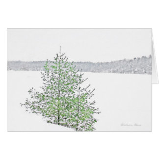 ** Holiday: Nature: Live each Season: Walden Pond Card