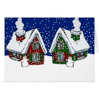 Holiday Neighbors Card