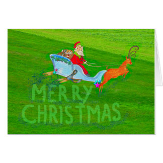 Holiday New Year 2016 Thank You for lawn service Card
