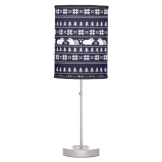 Holiday Nordic Piggy Table Lamp