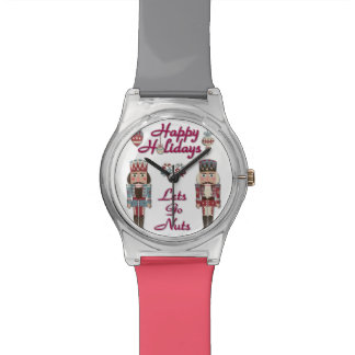 Holiday Nutcracker Lets Go Nuts Designer Watch