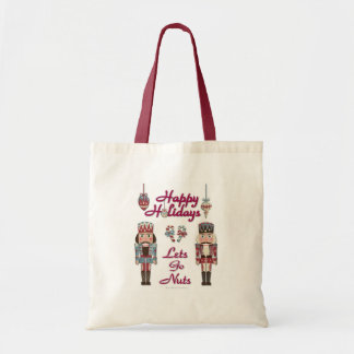 Holiday Nutcracker Lets Go Nuts Tote Bag