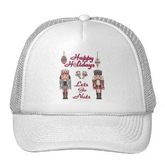 Holiday Nutcracker Lets Go Nuts Trucker Hat