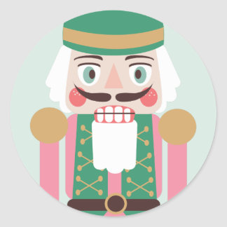 Holiday Nutcracker Stickers