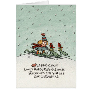Holiday on Ice Card