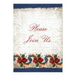 Holiday Open House - Rosemaling Custom Invitation