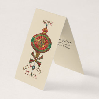 Holiday Ornament Card