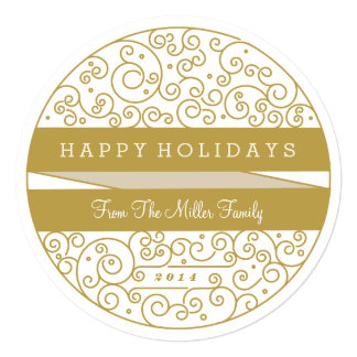 Holiday Ornament Photo Card