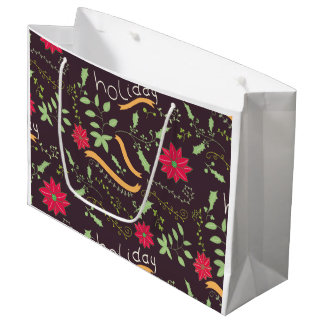 holiday ornaments large gift bag