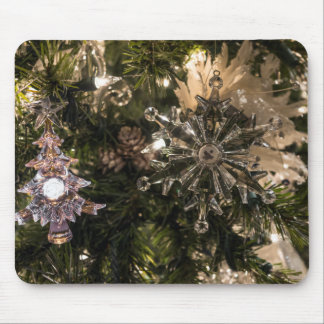 Holiday Ornaments Mouse Pad