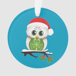 Holiday Owl Ornament