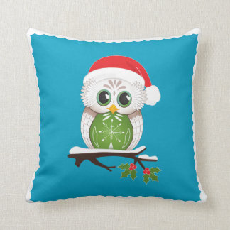 Holiday Owl Pillow