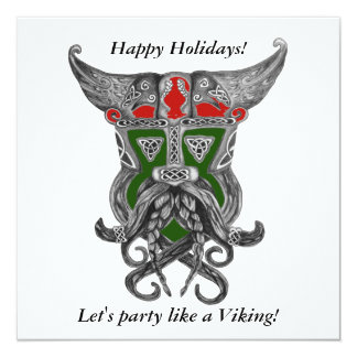 Holiday Party - Party like a Viking Card
