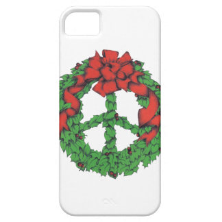 Holiday Peace Wreath iPhone 5 Cover