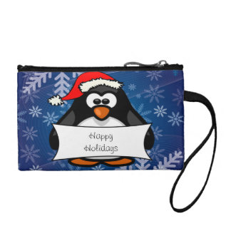 Holiday Penguin Coin Wallets