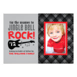 Holiday Photo Card | Jingle Bell Rock Theme Custom Announcements