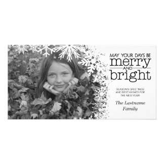 Holiday Photo Card: Let It Snow! Picture Card