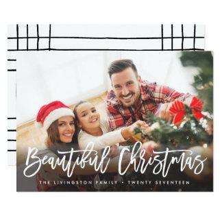 HOLIDAY PHOTO CARD | Modern Beautiful Christmas