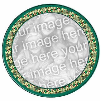 Holiday Photo Frame Photo Sculpture Ornament