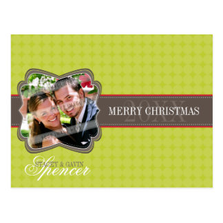 HOLIDAY PHOTO POSTCARD :: decorativeband 3L