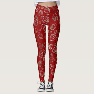 Holiday Pinecone Leggings