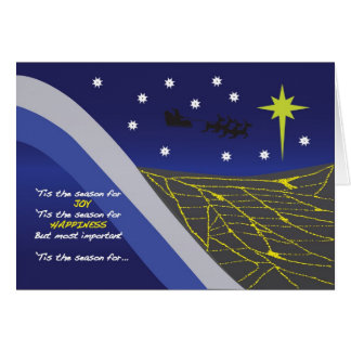 Holiday Reality Check Card
