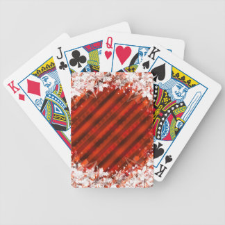 Holiday Red Custom Playing Cards