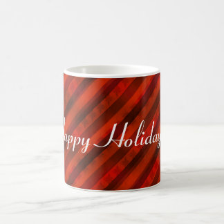 "Holiday ""Red Wrapping Paper"" Custom Gift Classic White Coffee Mug"
