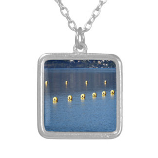 Holiday remember silver plated necklace