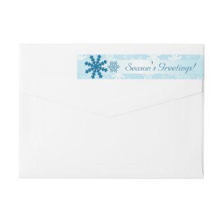 Holiday Return Address Label    Season's Greetings