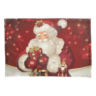 Holiday Santa Pillowcase