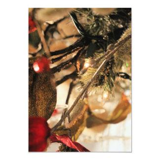 Holiday shine card