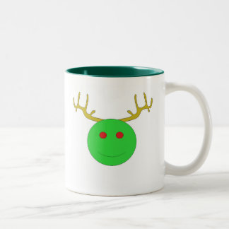 Holiday Smiley Mug