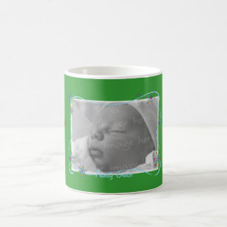 Holiday Snowflake Photo Frame Mug