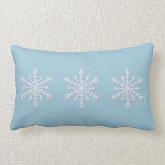 Holiday Snowflake Pillow