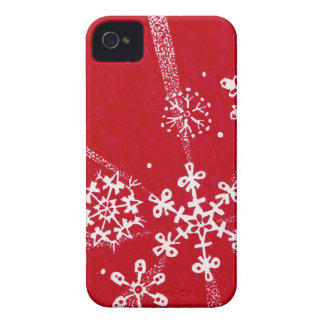 Holiday Snowflakes iPhone Case (4/4s)