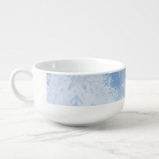 Holiday Snowflakes Jumbo Soup Mug