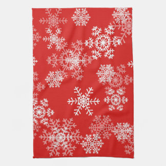 Holiday Snowflakes Kitchen Towel