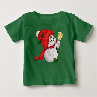 Holiday Snowman Baby T-Shirt