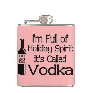 Holiday Spirit Hip Flask