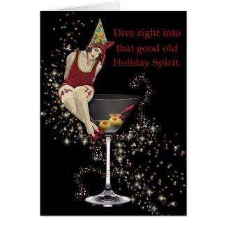 Holiday Spirits Card