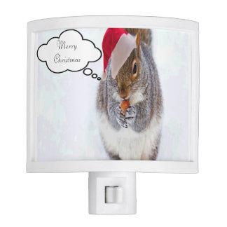 Holiday Squirrel Nite Lites
