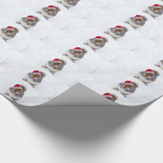 Holiday Squirrel Wrapping Paper