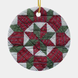 Holiday Star Ceramic Ornament